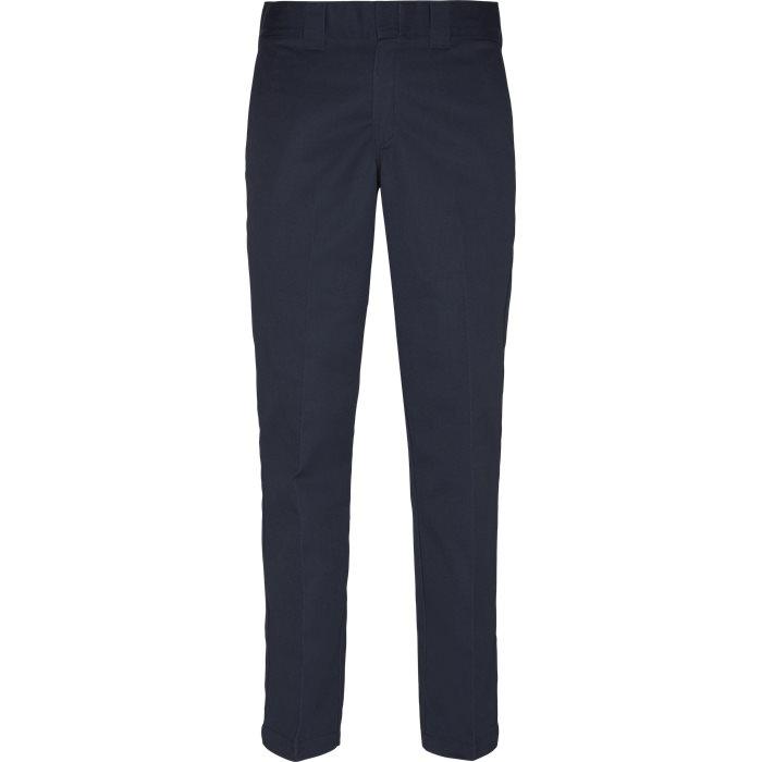 Byxor - Regular - Blå